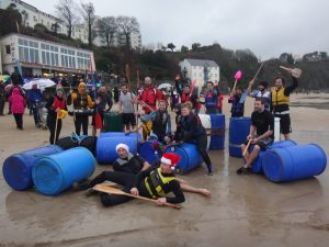 TENBY BOXING DAY SWIM RAFT RACE